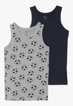 Name it - NKMTANK FOOTBALL 2 PACK - Unterhemd/-shirt - grey melange