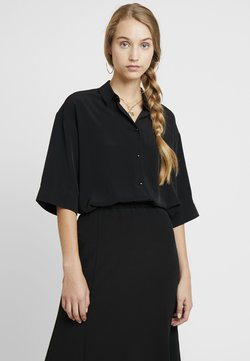 Monki - TAMRA BLOUSE - Hemdbluse - solid black