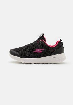 Skechers Performance - GO WALK JOY EASY BREEZE - Walkingschuh - black/hot pink