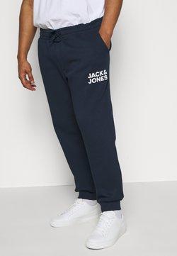 Jack & Jones - JJIGORDON JJNEWSOFT PANT - Jogginghose - navy blazer