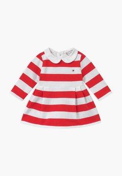 Tommy Hilfiger - BABY RUGBY STRIPE - Vestido informal - red