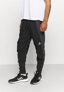 adidas Performance - MARATHON ADIZERO - Spodnie treningowe - black/grey