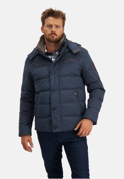 State of Art - Winterjacke - dark-blue plain