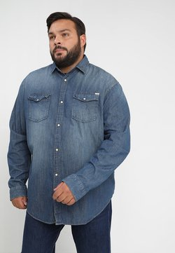 Jack & Jones - JJESHERIDAN PLUS - Camicia - medium blue denim