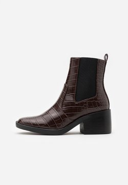 ONLY SHOES - ONLBLUSH STRUCTUR BOOT  - Støvletter - brown