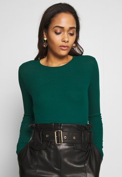Monki - LILIANA - Long sleeved top - green