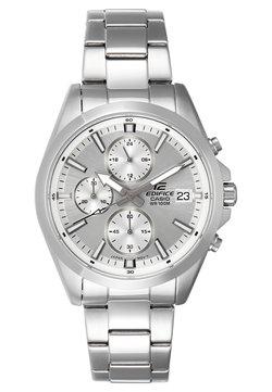 EDIFICE - Montre à aiguilles - silver-coloured/white