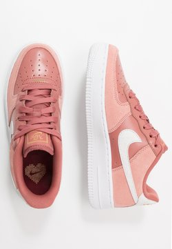 Nike Sportswear - AIR FORCE 1 LV8 V DAY - Sneaker low - pink quartz/white/canyon pink/metallic gold