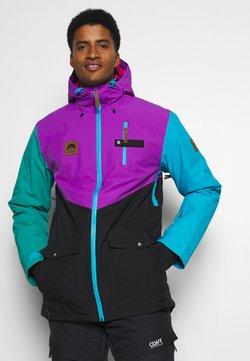 OOSC - FRESH POW JACKET - Laskettelutakki - purple/black/green/blue