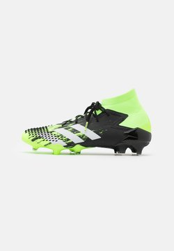 adidas Performance - FOOTBALL FIRM GROUND - Fußballschuh Nocken - signal green/footwear white/clear black