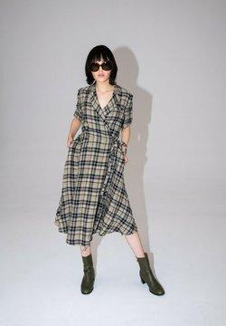 Hexeline - Sukienka letnia - beż