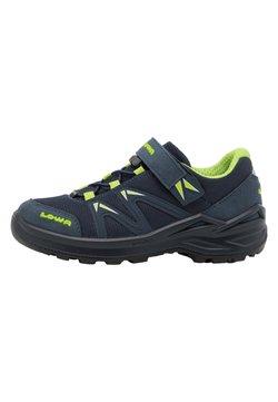 Lowa - INNOX PRO GTX UNISEX - Hiking shoes - stahlblau/limone