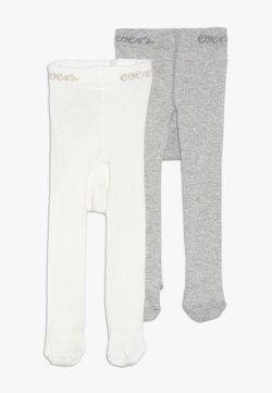 Ewers - 2 PACK UNISEX - Panty - grau/latte