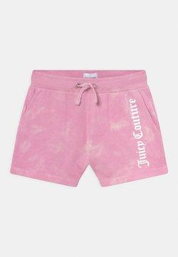 Juicy Couture - TIE DYE - Shortsit - fuchsia pink