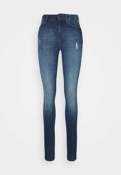 ONLY Tall - ONLBLUSH LIFE HIGH WAIST - Jeans Skinny Fit - medium blue denim