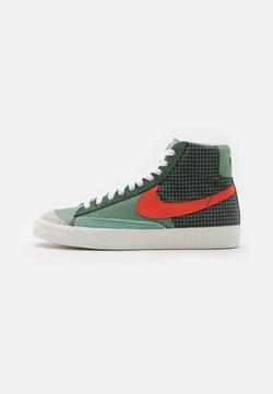 Nike Sportswear - BLAZER MID '77 PATCH - High-top trainers - dutch green/orange/galactic jade
