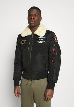 Alpha Industries - INJECTOR  AIR FORCE - Bombertakki - black