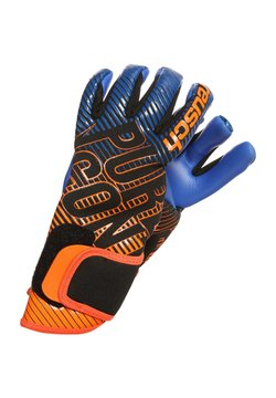 Reusch - PURE CONTACT 3 S1  - Torwarthandschuh - black / shocking orange / deep blue
