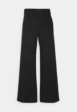 GAP - FULL LENGTH WIDE LEG - Jeans Relaxed Fit - true black