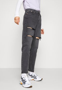 Topshop - SOFIA MOM - Jeans Relaxed Fit - washed black