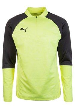 Puma - Funktionsshirt - fizzy yellow/asphalt