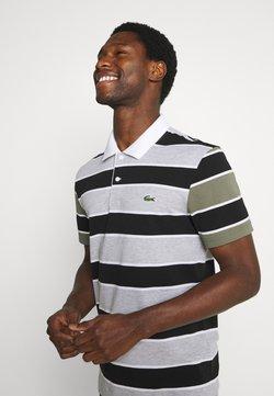 Lacoste - Poloshirt - argent/noir/blanc