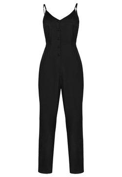 faina - Jumpsuit - schwarz