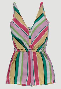 O'Neill - JUMPSUITS SUMMER PLAYSUIT - Combinaison - white aop w/ pink or purple