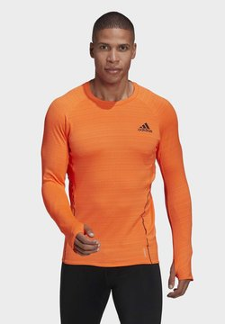 adidas Performance - RUNNER LONG-SLEEVE TOP - Maglietta a manica lunga - orange