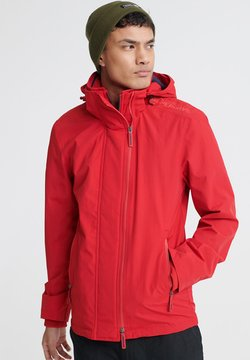 Superdry - SUPERDRY TECH HOOD POP ZIP SD-WINDCHEATER JACKET - Tuulitakki - red