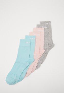 Skechers - BASIC SOCKS VENTILATION 6 PACK - Calcetines de deporte - pastel turquoise