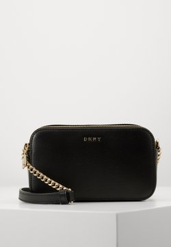 DKNY - BRYANT CAMERA BAG SUTTON - Umhängetasche - black/gold-coloured