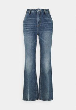 Won Hundred - ALEXIS - Flared Jeans - mid blue crease