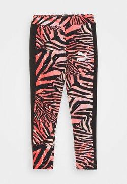 Puma - CLASSICS SAFARI LEGGINGS - Tights - apricot blush