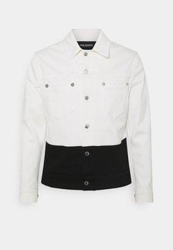 Neil Barrett - JACKET - Giacca di jeans - off white/black
