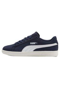 Puma - SMASH  - Sneakers - peacoat-white-whisper white