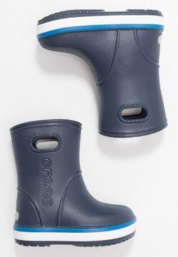 Crocs - CROCBAND RAIN BOOT - Kumisaappaat - navy/bright cobalt