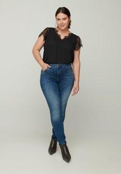 Zizzi - AMY  - Jeans Slim Fit - blue