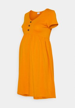 MAMALICIOUS - MLSANDRA SHORT DRESS - Sukienka z dżerseju - desert sun