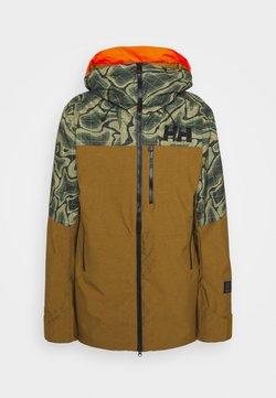 Helly Hansen - STRAIGHTLINE LIFALOFT JACKET - Snowboardjacka - uniform green