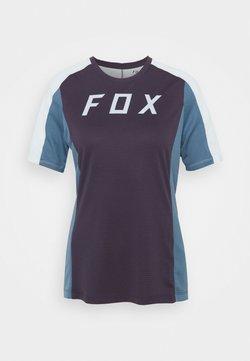 Fox Racing - DEFEND - T-Shirt print - dark purple