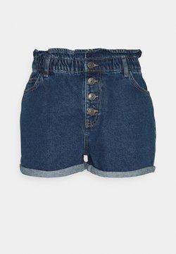 ONLY - ONLBAY LIFE PAPERBAG - Shorts di jeans - medium blue denim