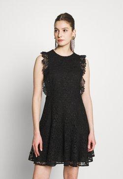Pinko - TRIGUN ABITO MACRAME MELA - Vestido de cóctel - black