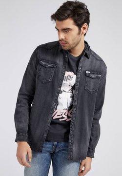 Guess - SLIM - Koszula - schwarz