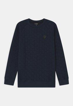 Automobili Lamborghini Kidswear - HEXAGON QUILTED - Sweater - blue hera