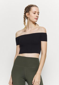 Capezio - CROPPED - Top - black