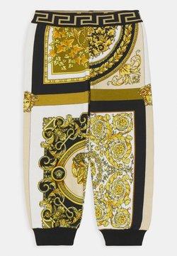 Versace - BAROQUE MOSAIC KIDS UNISEX - Broek - white/gold