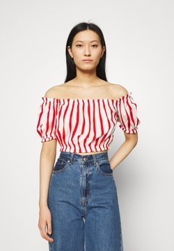 LTB - LOZIWE - Bluse - white/red
