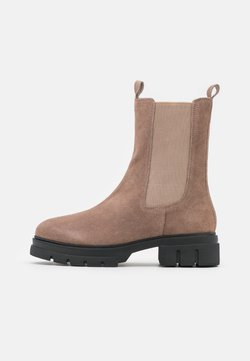 Anna Field - LEATHER - Platform ankle boots - taupe
