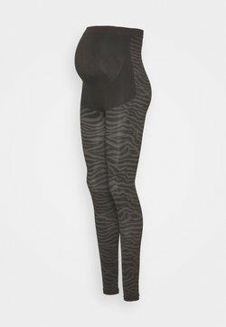 Supermom - LEGGING SEAMLESS ANIMAL - Legging - black